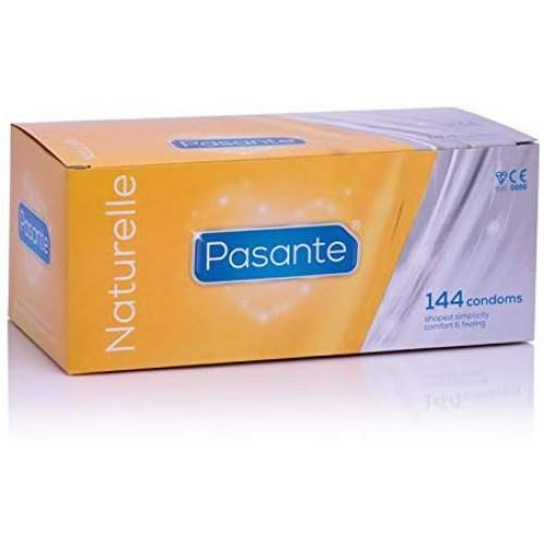 Pasante Naturelle Condoms - Bulk packs of 144 condoms