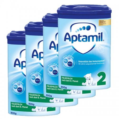 Aptamil 2 Follow On Milk Formula 4x800g